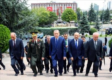 GENELKURMAY - Cumhurbaşkanı Erdoğan'dan 15 Temmuz Sonrası Genelkurmay'a İlk Ziyaret