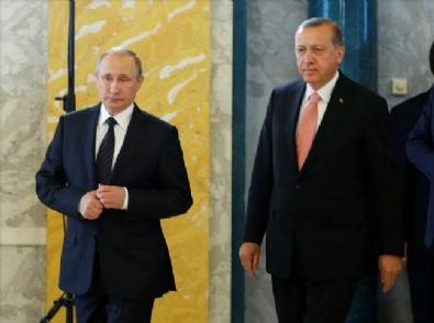 RUSYA FEDERASYONU - Cumhurbaşkanı Erdoğan - Rusya Devlet Başkanı Putin Görüşmesi