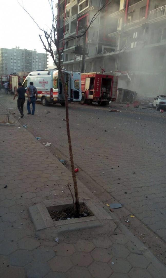 devlet hastanesi - Mardin'de Patlama