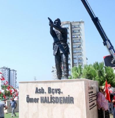 ÖZEL KUVVETLER - Mersin'de Ömer Halisdemir'in Anıt Heykeli Açıldı