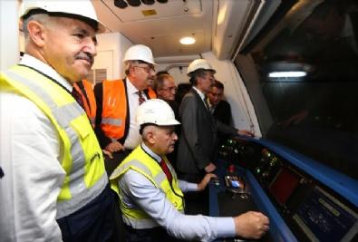 Keçiören Metrosu Test Sürüşü Töreni