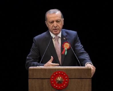 YARGITAY BAŞKANI - Cumhurbaşkanı Erdoğan Adli Yıl Açılış Töreninde Konuştu
