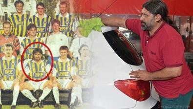 Fenerbahçe'nin eski yıldızı oto yıkamacı oldu!