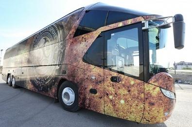 Osmanlıspor'un yeni otobüsünde dikkat çeken detay