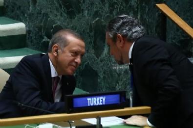 Cumhurbaşkanı Erdoğan'a BM'de Yoğun İlgi