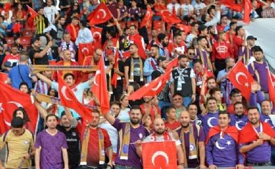 Zürih - Osmanlıspor Maçından Kareler