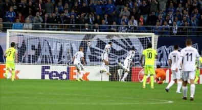 Gent - Konyaspor Maçından Kareler