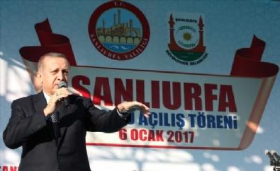 Cumhurbaşkanı Erdoğan Şanlıurfa'da Toplu Açılış Törenine Katıldı