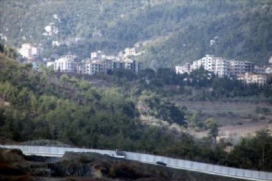Suriye Sınırındaki Beton Blok Çalışmaları