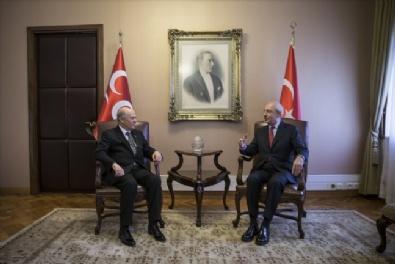 Kılıçdaroğlu - Bahçeli Görüşmesi Başladı