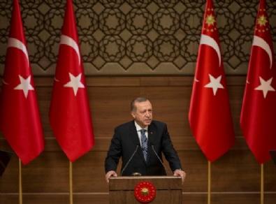 Cumhurbaşkanı Erdoğan Beştepe'de Muhtarlara Seslendi