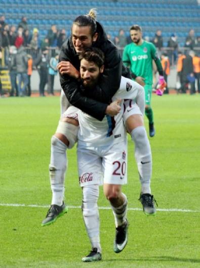 Trabzonspor, Üç Puanı Tek Golle Aldı
