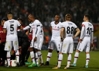Beşiktaş- Gençlerbirliği Maçından Kareler