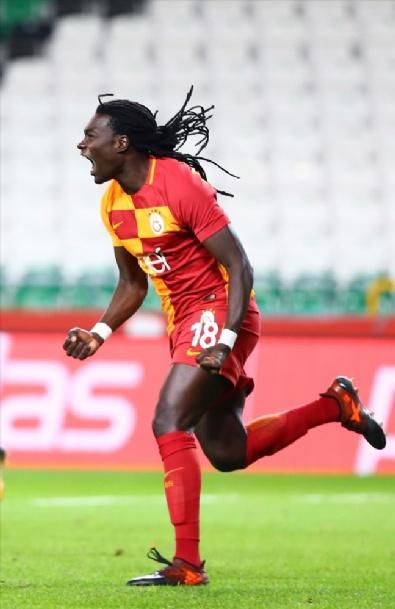 Konyaspor-Galatasaray Maçından Kareler
