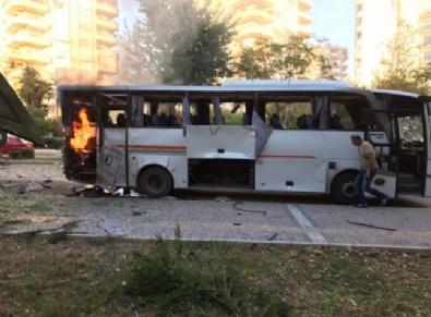 Mersin'de Bombalı Saldırı