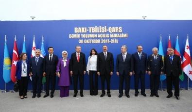 Bakü - Tiflis- Kars Demiryolu Hattı Açıldı