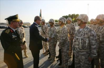 Erdoğan'dan Katar'daki Birliğe Ziyaret