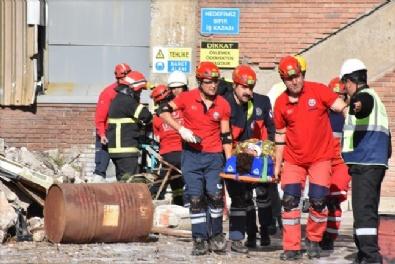 Termik Santralde Deprem Ve Yangın Tatbikatı