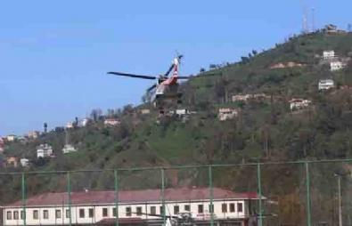 Cumhurbaşkanı Erdoğan, Ayder'i Havadan İnceledi