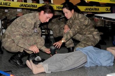 Jandarmanın Kadın Astsubayları