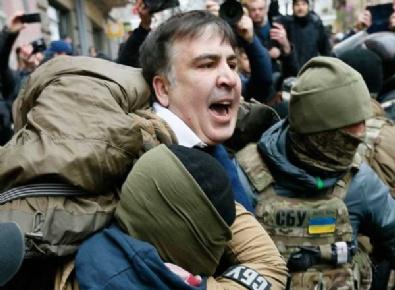 Eski Gürcistan Cumhurbaşkanı gözaltına alındı