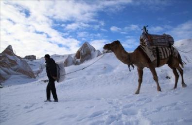 Turistler Beyaz Kapadokya'ya Hayran Kalıyor