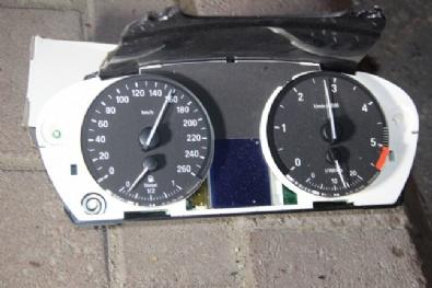 Kaza Yapan Cipin Hız İbresi 160 Kilometrede Takılı Kaldı