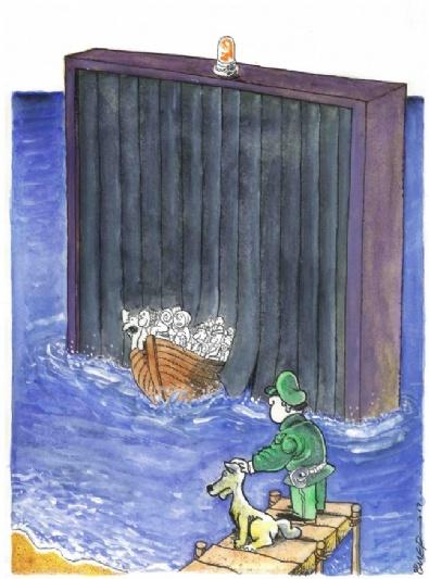 Bayraklı'nın Karikatürleri Beğeni Topluyor