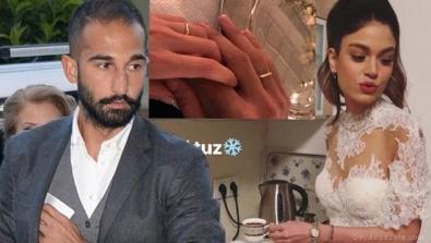 VOLKAN BABACAN - Kaleci Volkan Babacan spiker Hilal Özdemir'le nişanlandı