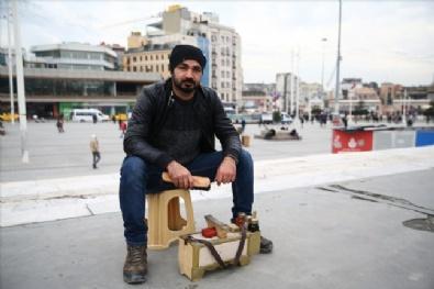 Taksim'de polis kuş uçurtmuyor