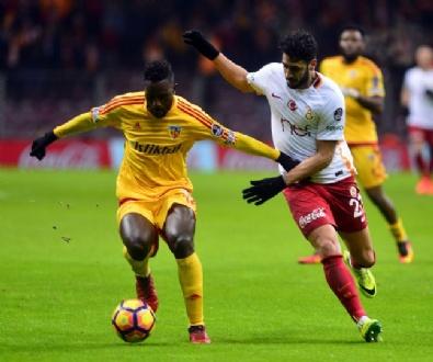 KAYSERISPOR - Galatasaray: 1 Kayserispor: 2 (Maçtan özel kareler)