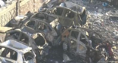 BOMBALI SALDIRI - Şanlıurfa'da gün ağarınca terör dehşeti ortaya çıktı