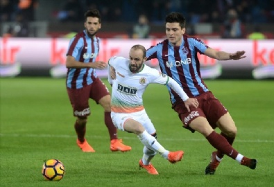 TRABZONSPOR - Trabzonspor - Aytemiz Alanyaspor Karşılaşmasından En Güzel Fotoğraflar