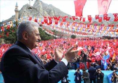 Başbakan Binali Yıldırım Amasya'da