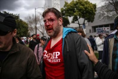 TRUMP - ABD'de Trump Destekçileri İle Karşıt Gruplar Birbirine Girdi