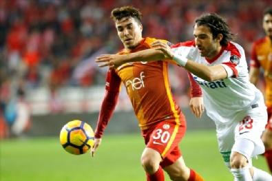 ANTALYASPOR - Antalyaspor - Galatasaray Maçından En Güzel Fotoğraflar