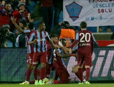 Trabzonspor - Galatasaray Maçından Çok Özel Kareler