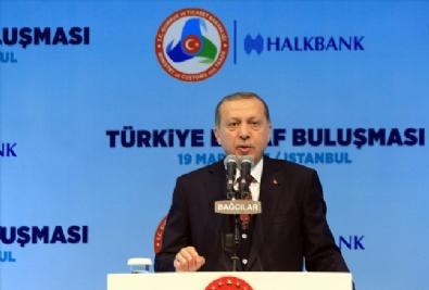 Cumhurbaşkanı Recep Tayyip Erdoğan, Türkiye Esnaf Buluşması Programına katıldı
