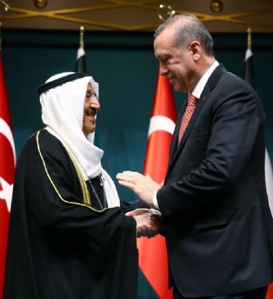 Kuveyt Emiri Cabir El Sabah Ankara'da