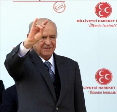 DEVLET BAHÇELİ - MHP Genel Başkanı Bahçeli, Erzurumda