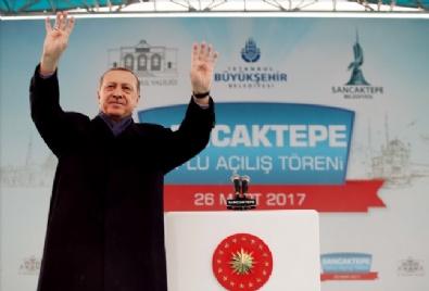 Cumhurbaşkanı Recep Tayyip Erdoğan Sancaktepe'de Toplu Açılış Törenine Katıldı