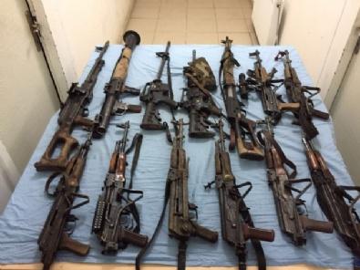 BİTLİS - Bitliste 14 Teröristin Öldürüldüğü Operasyon Kamerada