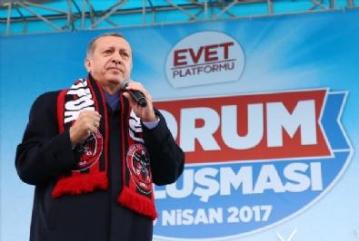 Cumhurbaşkanı Recep Tayyip Erdoğan, Çorumda