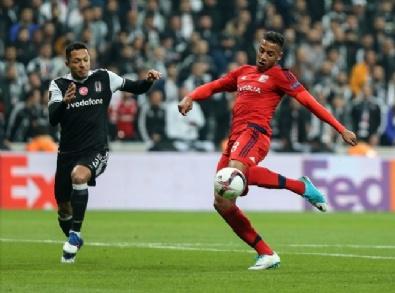 Beşiktaş Lyon Maçından En Güzel Kareler