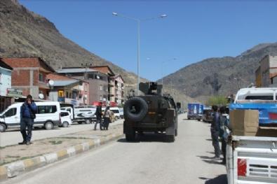 Erzurum Şenkaya'da Çatışma