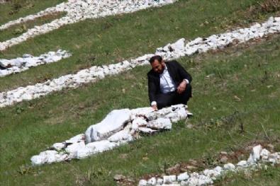 Cumhurbaşkanı Erdoğan'ın İsmini Dağa Yazdı