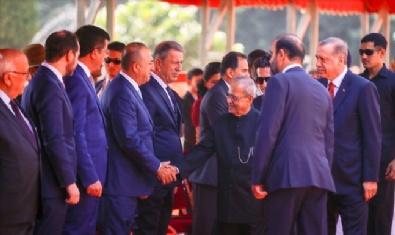 HINDISTAN - Cumhurbaşkanı Erdoğan Hindistan'da