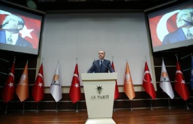 Cumhurbaşkanı Erdoğan AK Parti'ye Döndü