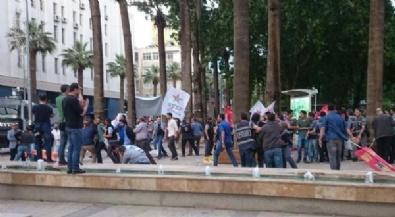 Polis İzinsiz Gösteriye Müdahale Etti: 34 Gözaltı