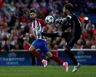 Atletico Madrid - Real Madrid Maçından En Güzel Kareler
